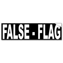 "Western Governments admit Carrying out ""False Flag"" Terror"