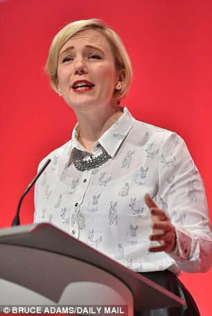 Anger: Labour MP Stella Creasy revealed last night how she decided to vote for airstrikes in Syria - and was hit by widespread abuse