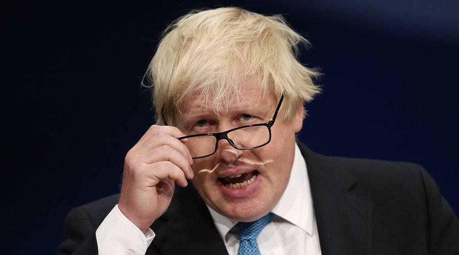 London's Mayor Boris Johnson. ©Phil Noble