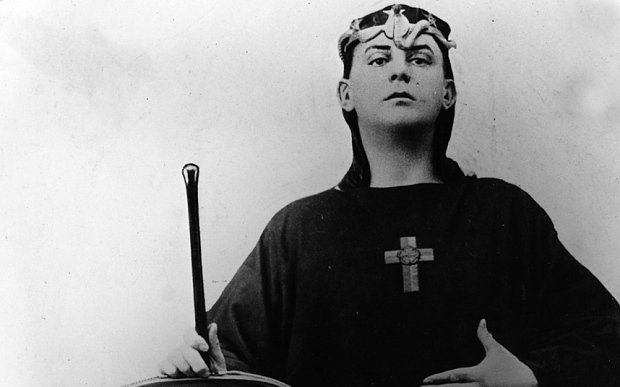 A young Aleister Crowley circa 1890.