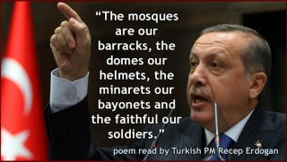 """Erdogan have become the Muslim bookend """"relationship"""" to the Zionists"""