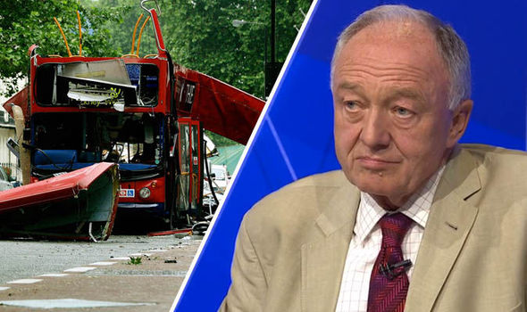 Ken Livingstone and London bus