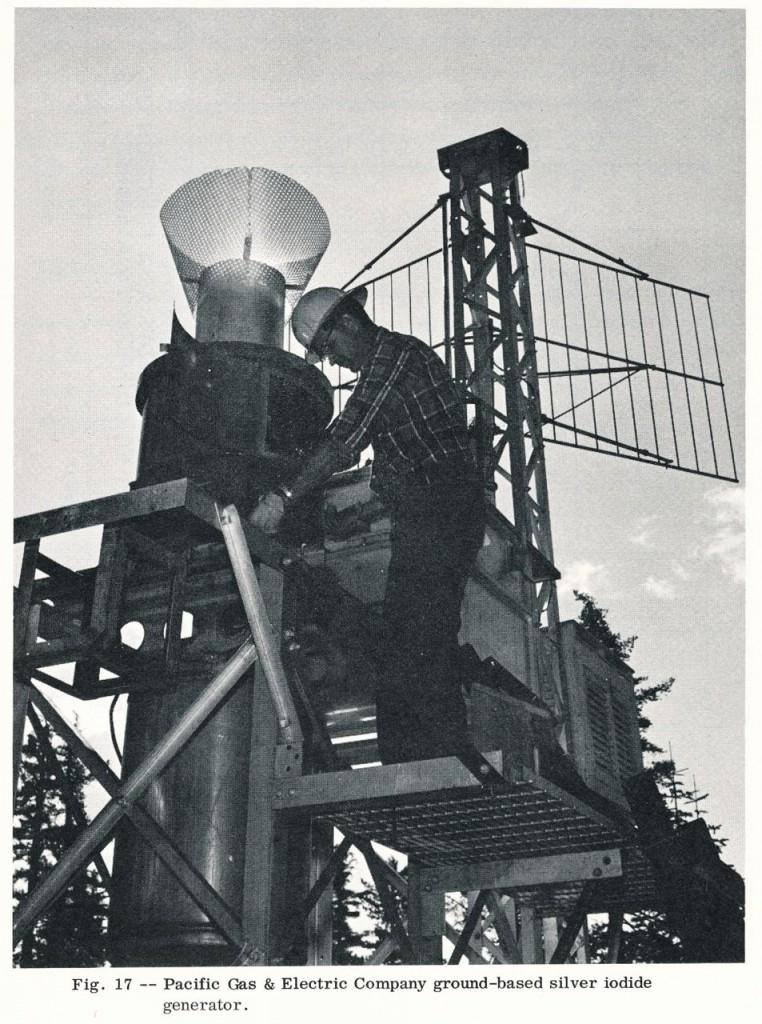 PG&E silver iodide generator