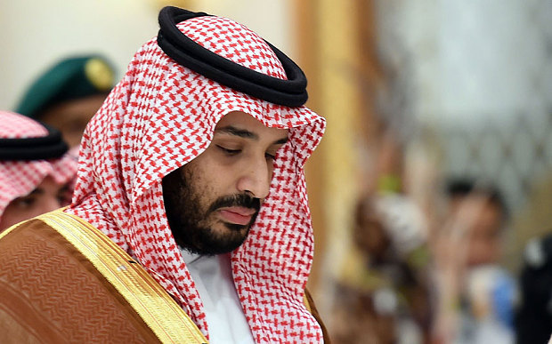 File photo: Prince Mohammed bin Salman, who is believed to have played a key role in Saudi Arabia's decision to intervene in the civil war in Yemen earlier this year