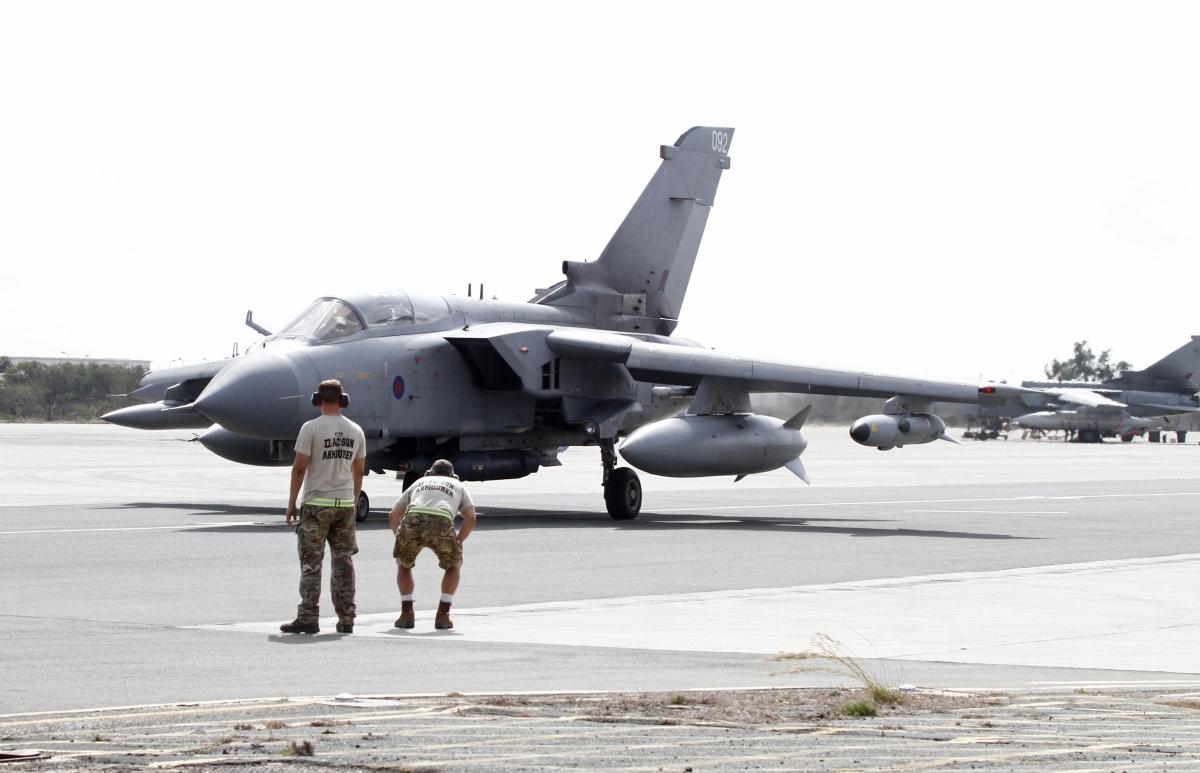 British tornado jet