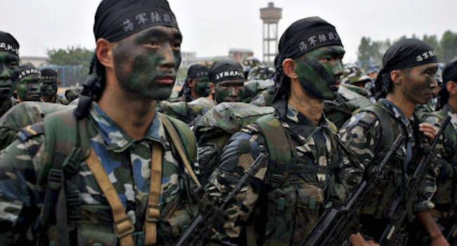 Thousands of military troops from China enter the war on ISIS, stunning the Pentagon