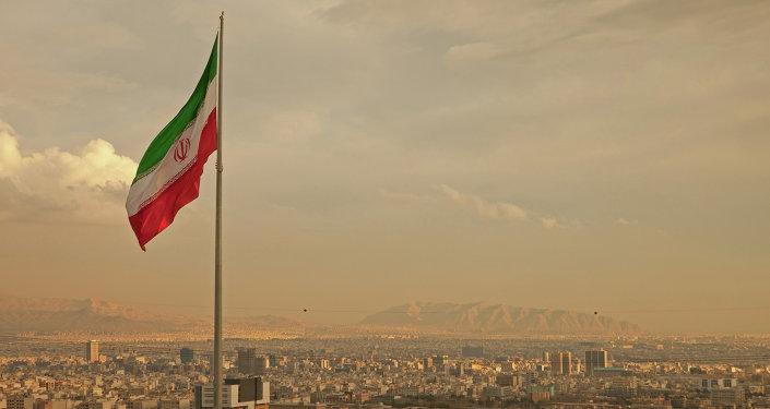 View of the Tehran, Iran