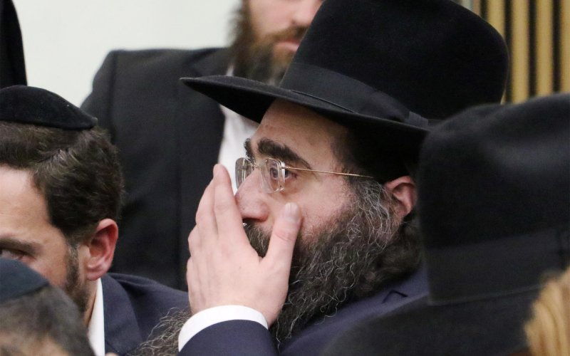 Image #: 36450115 Rabbi Yoshiyahu Pinto who admitted to bribing a high-ranking Israel Police official, Brig. Gen. Ephraim Bracha, in Tel Aviv District Court on April 28, 2015, during the argumentation before sentencing. The admission came as part of a plea bargain one day after the return to Israel of the rabbi, who conducts a wide range of international activities from both Ashdod and New York, the latter being his main base of activity. Shaul Golan/Israel Sun /Landov