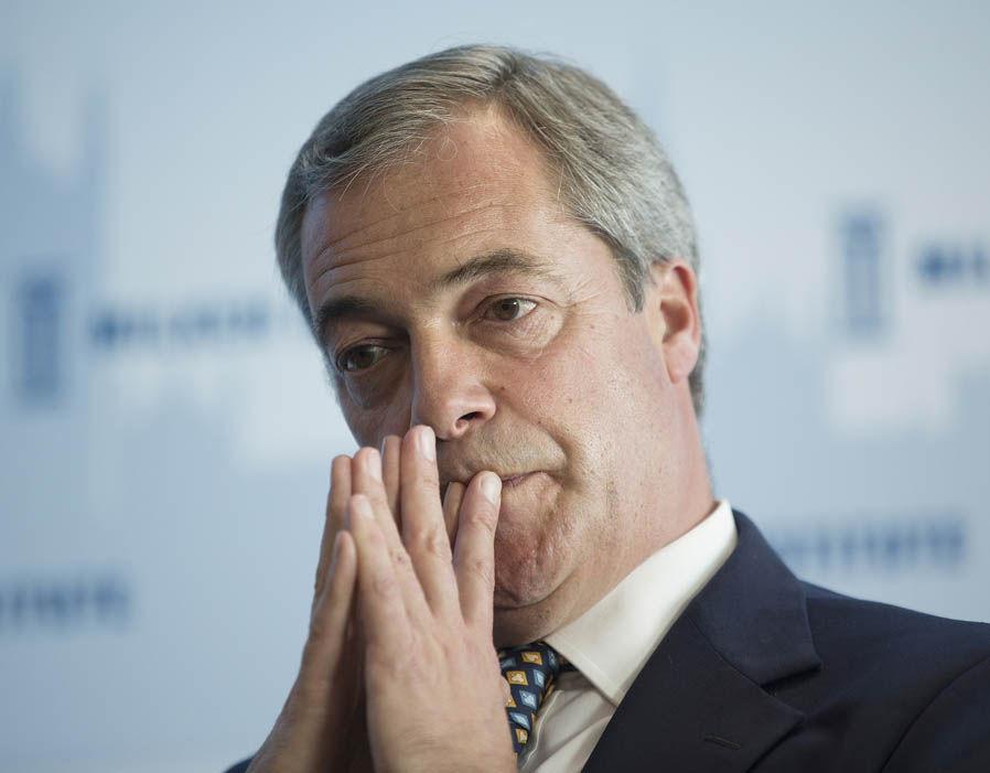 Nigel Farage UK Independence Party Milken Institute summit London
