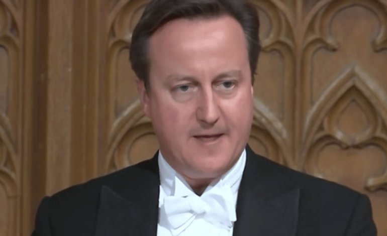 Cameron's embarrassing slip-up reveals how much he loves the growing gap between rich and poor (VIDEO, TWEETS)