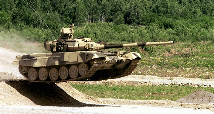 A T-90-S main battle tank