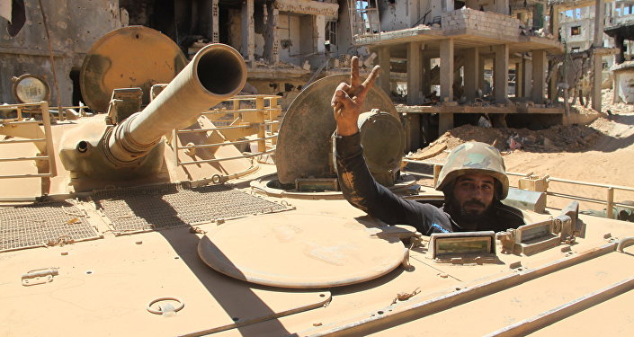 Position of Syrian army at village of Salma and city of Zabadani