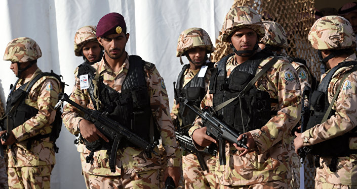Members of Saudi Special Forces (File)