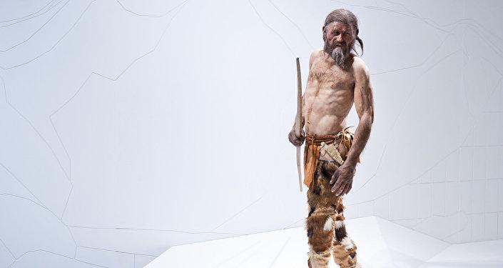Reconstruction of Ötzi the Iceman