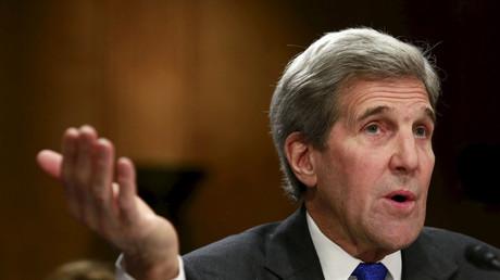 U.S. Secretary of State John Kerry. © Yuri Gripas