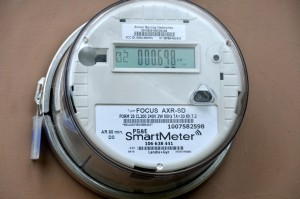 how to read western power smart meter