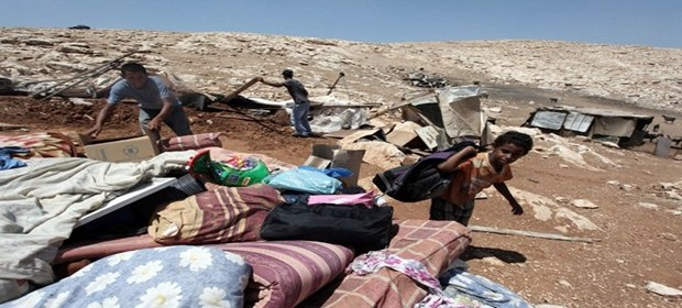 Israel Destroys Entire Village, Leaves Children Homeless