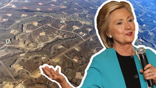 hillary clinton fracking