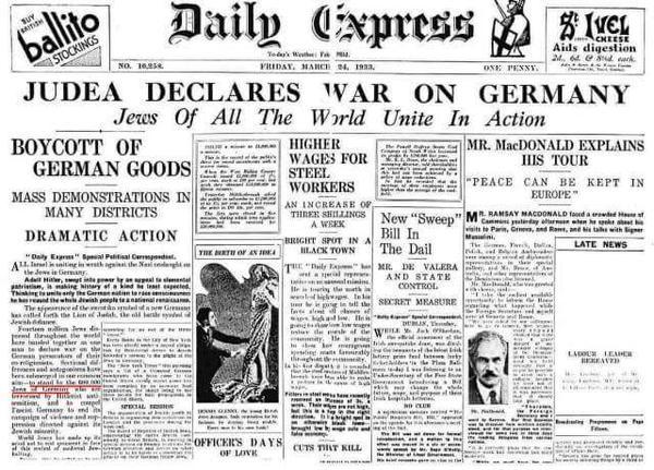 judah declares war
