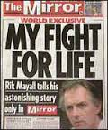 Rik Mayall fight for life