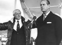 Savile and Philip at Stoke Mandeville