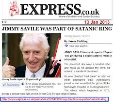 Savile Satanic Ring