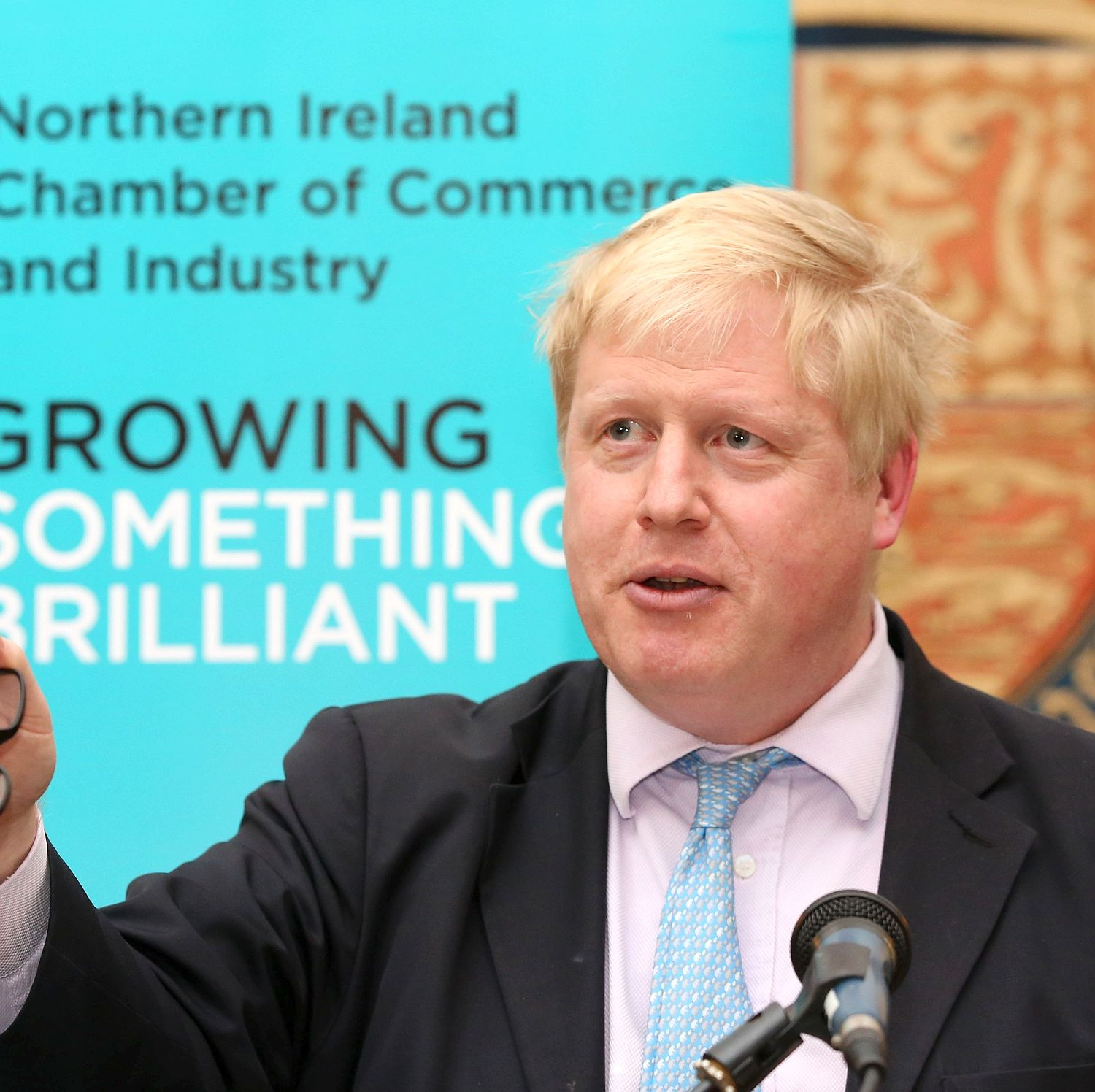 Out ... Boris has had enough of scaremongering