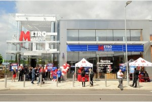 23/05/14 metro bank opening - oakgrove, milton keynes Metro Bank opens on Oakgrove