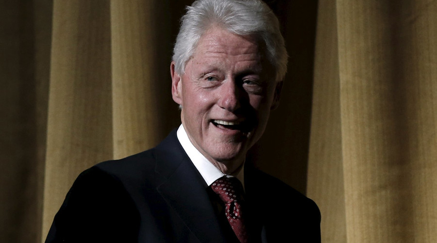Former U.S. president Bill Clinton © Mike Segar