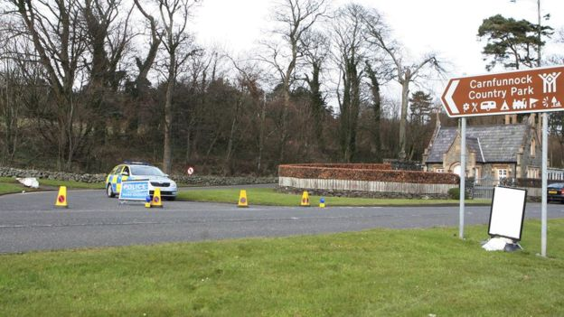 Carnfunnock Country Park was closed for a number of hours