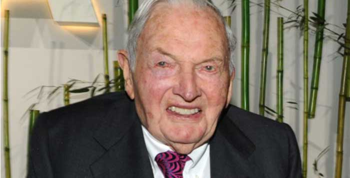 David Rockefeller Says Conspiracy About One World Order Is True
