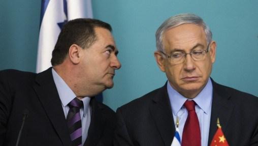 israel katz & netanyahu