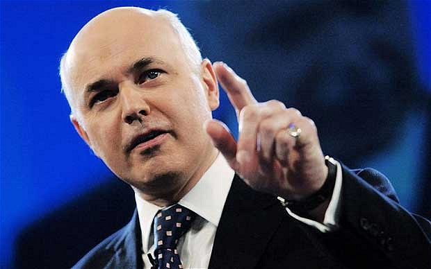 Iain Duncan Smith, the Work and Pensions Secretary