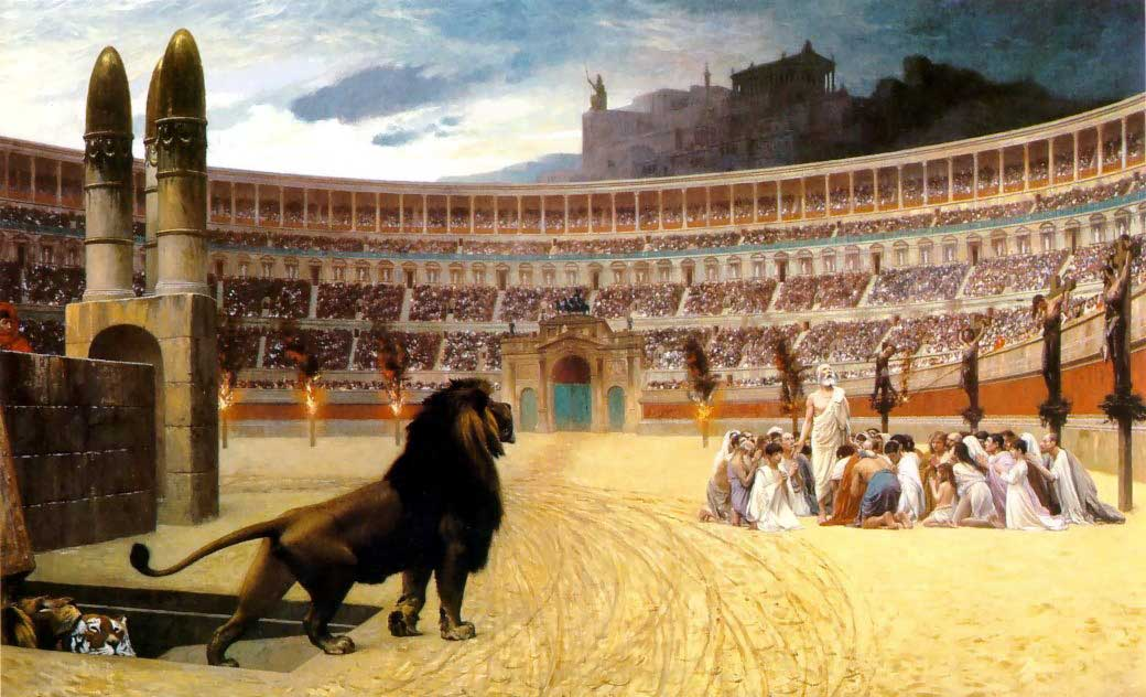 christian persecution by rome