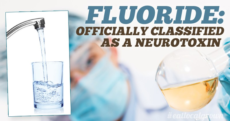 Fluoride Officially Classified as a Neurotoxin in World's ...