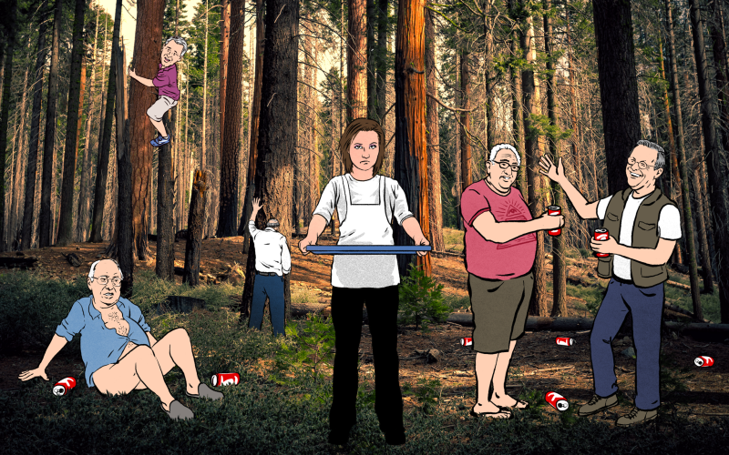 My Summer Job at the Bohemian Grove, Serving Milkshakes to the Shitfaced Global Elite