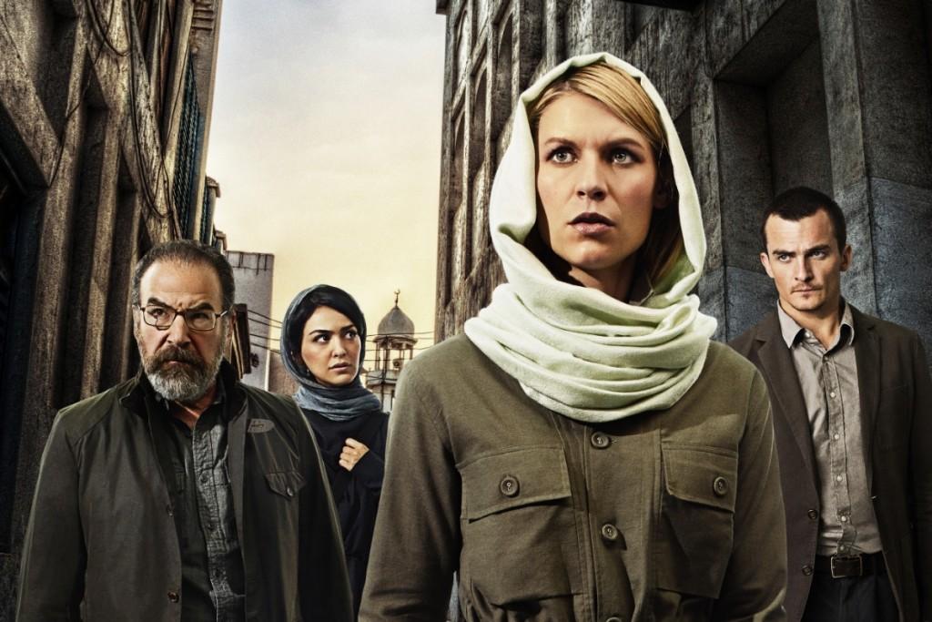 Claire Danes as Carrie Mathison in Homeland (Season 4, PR Art). - Photo: Jim Fiscus/SHOWTIME - Photo ID: HomelandS4_PRArt_01.R
