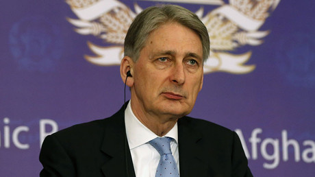 Britain's Foreign Secretary Phillip Hammond. ©Omar Sobhani