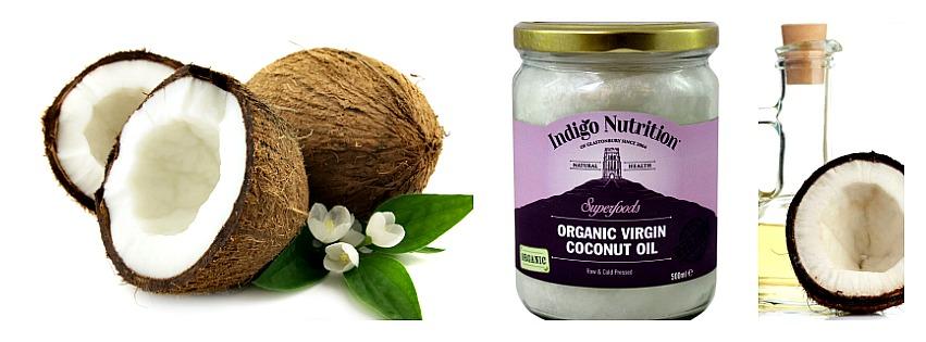 Fresh coconut, coconut oil, coconut
