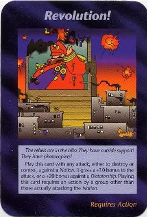 Revolution! (UE) Illuminati Card NWOs