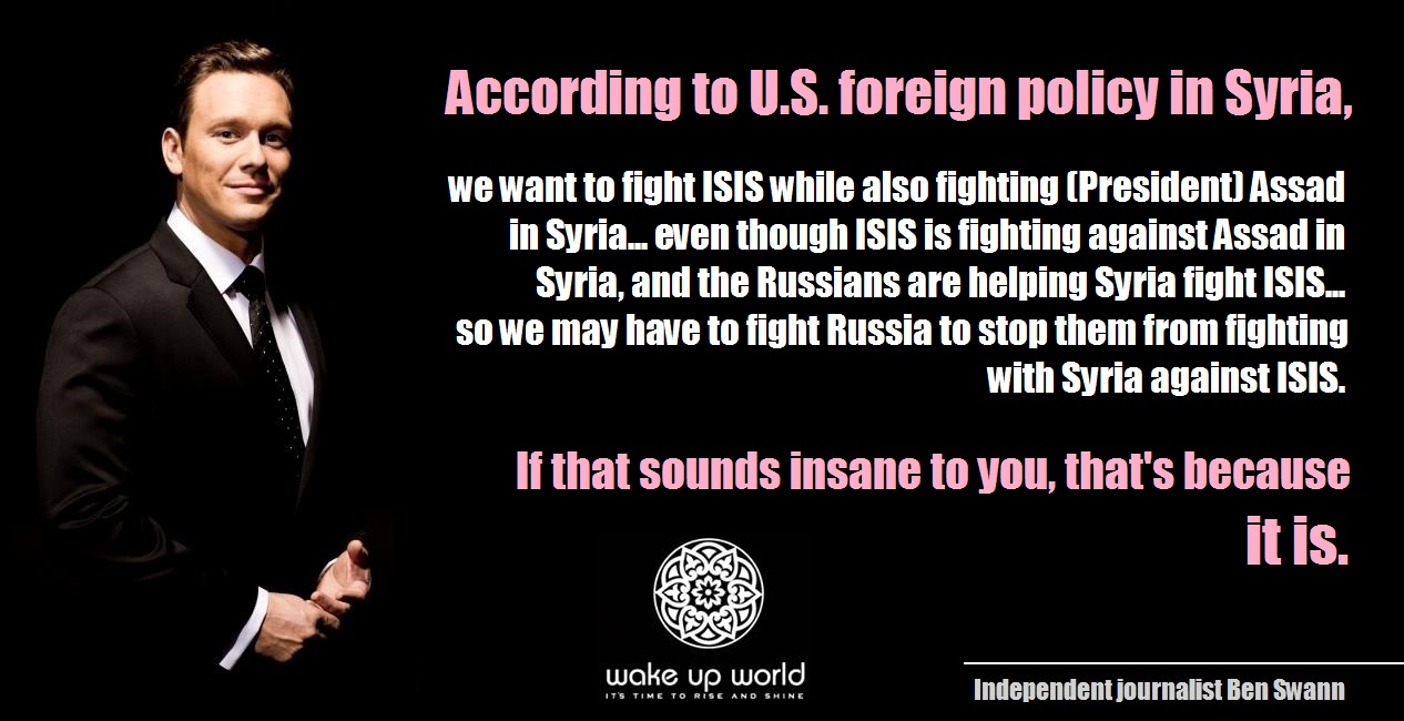 Top 10 Indications ISIS is a US-Israeli Creation - Ben Swann on US, Israel, Russia, Syria - FB