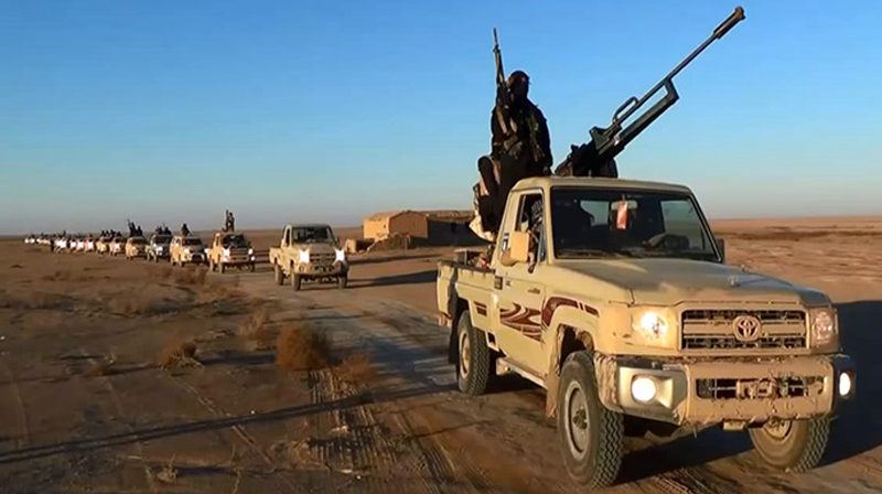 Top 10 Indications That ISIS is a US-Israeli Creation - ISIS Driving Toyota