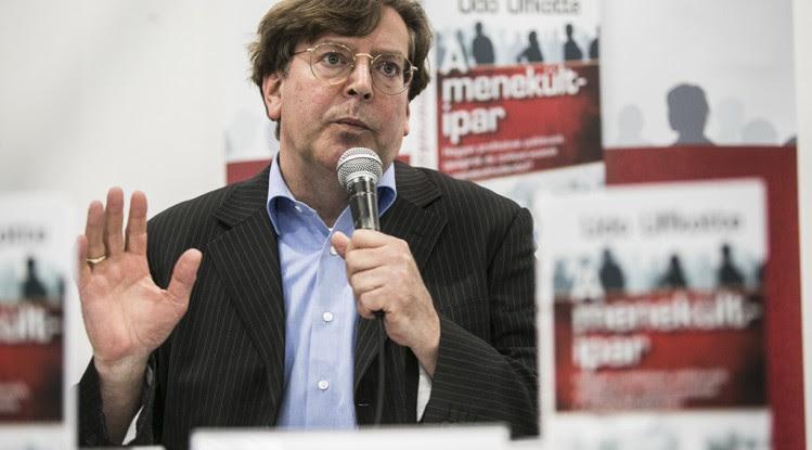 Udo Ulfkotte A Menekült ipar könyv szerzője 2016.04.22. Fotó: Horváth Péter Gyula