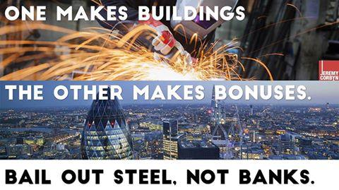 steel not banks