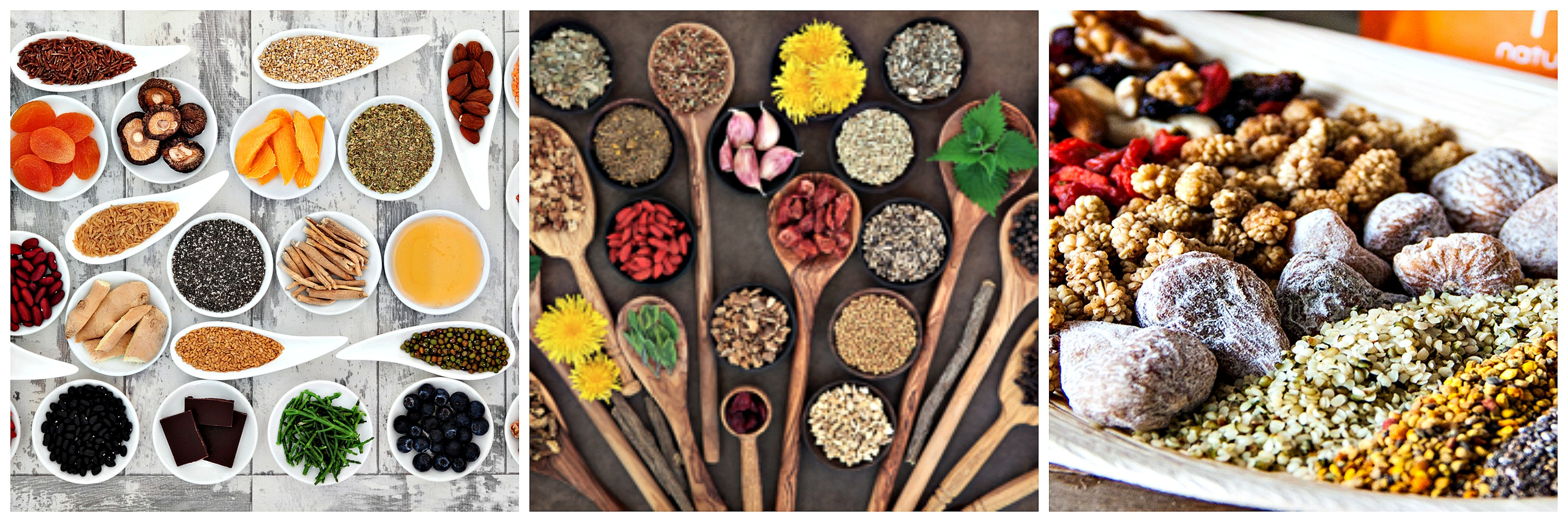 Selection of Superfoods