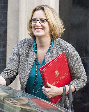 Energy Secretary Amber Rudd claimed energy bills would soar by £500 million a year if we left the EU, adding: 'The thing about the gas market is you don't know what shocks and what changes there can be to it'