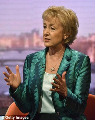 Britain's energy security will be threatened if we stay in the European Union, energy minister Andrea Leadsom (pictured) warned today
