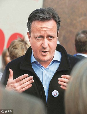 A pact between David Cameron and big business to scare Britain into staying in the EU was exposed