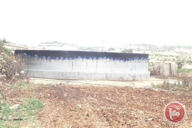 Water Tank Demolition : Israel delivers demolition notices for eu funded water