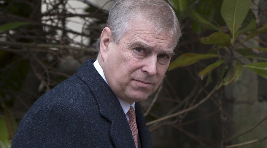 Britain's Prince Andrew © Neil Hall